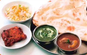 Chicken Tikka Thali (チキンティッカターリー)